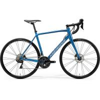 Велосипед Merida Scultura Disc 400 SilkLightBlue/Silver-Blue 2020 L(56cm)(19403)